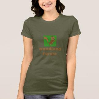 T-shirt Forêt de région boisée