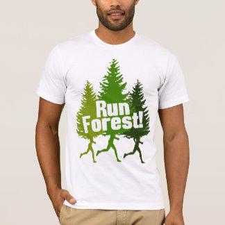 T-shirt Forêt Outdoorsy drôle de course