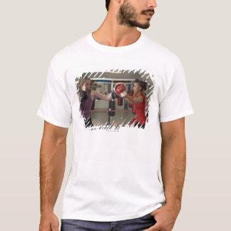 T-shirt Formation de boxeur avec l'entraîneur dans le