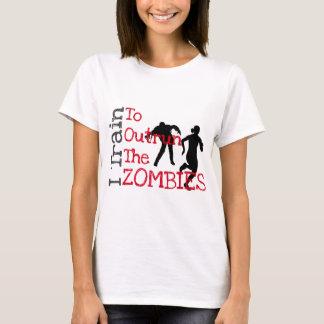T-shirt Formation de zombi (rouge)