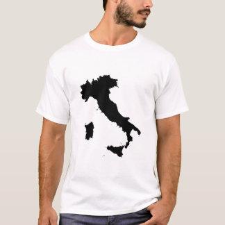 T-shirt Forme de carte de l'Italie