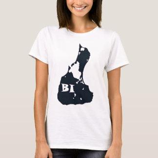 T-shirt Forme d'île de BI d'Île de Block