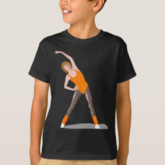 T-shirt forme physique 80s