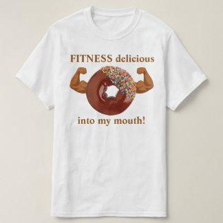 T-shirt Forme physique de beignet