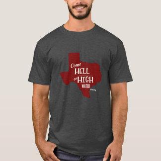 T-shirt fort de #Texas d'enfer ou de hautes eaux