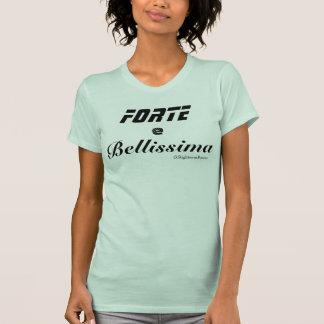 T-shirt fort et beau de Racerback