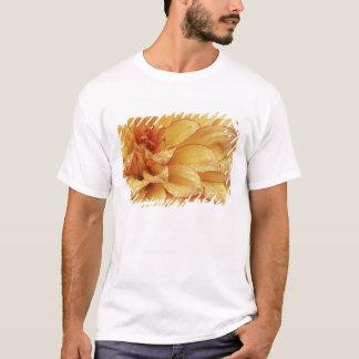 T-shirt Fortement en photographies de fleur de Dalhia avec