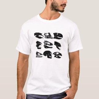 T-shirt fossile de crâne