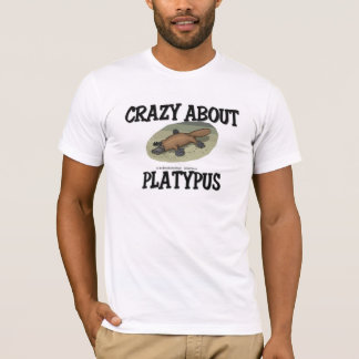 T-shirt Fou au sujet de l'ornithorynque