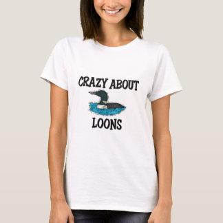 T-shirt Fou au sujet des dingues