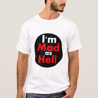 T-shirt Fou comme l'enfer