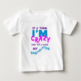 T-shirt fou de babysitter