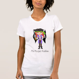 T-shirt fou de Faery de pirate de Morgan Rackham