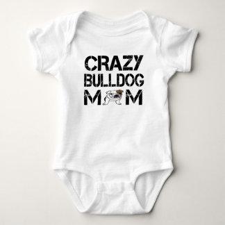 T-shirt fou de maman de bouledogue