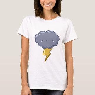 T-shirt fou de nuage de tonnerre