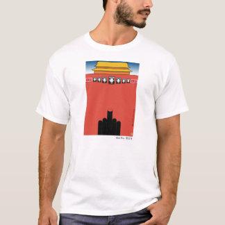 T-shirt fou de Tiananmen de crabe