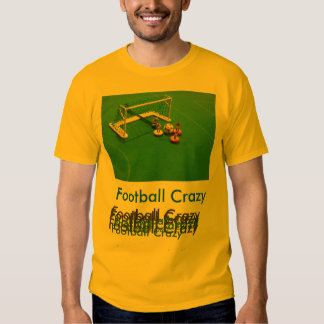T-shirt fou du football