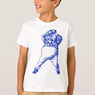 T-shirt Fou Tweedle le bleu encré par Dee