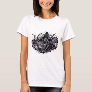 T-shirt Foudre et flèches de Demisexual de graffiti