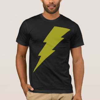 T-shirt Foudre jaune