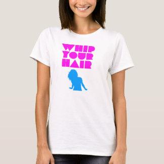 T-shirt Fouettez vos cheveux - silhouette