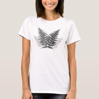 T-shirt Fougères monochromes