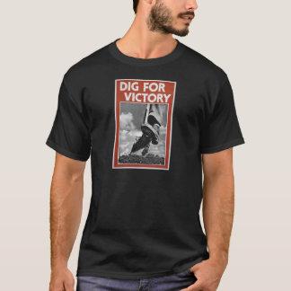 T-shirt Fouille pour la victoire