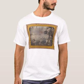 T-shirt Fouilles à l'appartement grisâtre, EL Dorado Cie.