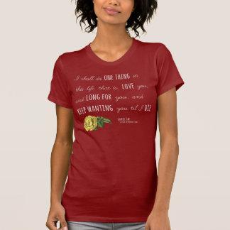 """T-shirt Foule de Madding """"une obscurité florale de chemise"""