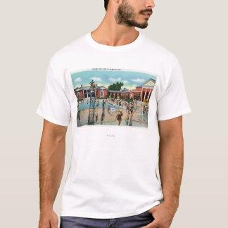 T-shirt Foules à la piscine de spa de Saratoga