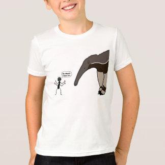 T-shirt Fourmi contre la chemise de fourmilier