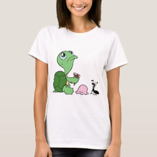 T-shirt Fourmi heureuse de tortue triste