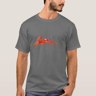 T-shirt fourmi rouge