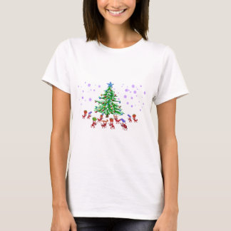 T-shirt Fourmi-ticipation de Noël