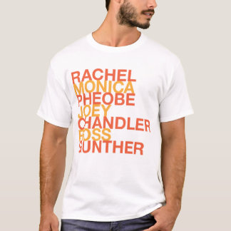 T-shirt Fournisseuse Ross de Rachel Monica Pheobe Joey