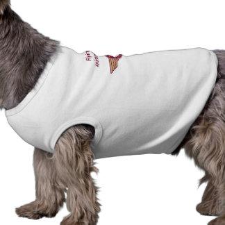 T-shirt Fourrure de vol - chemise de chienchien