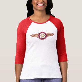 T-shirt Fourrure de vol - la longue pièce en t de la femme