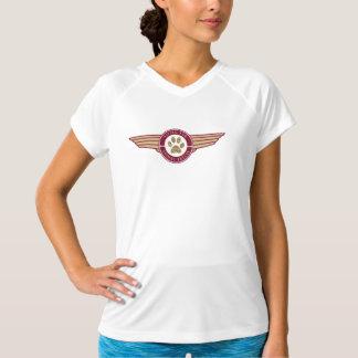 T-shirt Fourrure de vol - la pièce en t courte de la femme