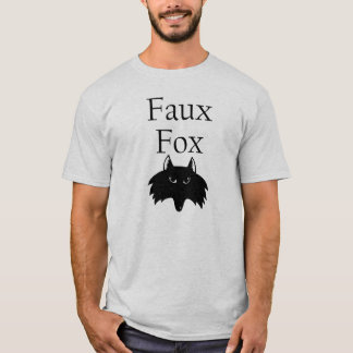 T-shirt Fox de Faux