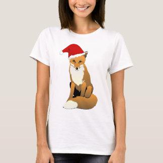 T-shirt Fox de Père Noël