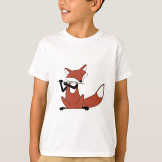 T-shirt Fox jouant la cannelure