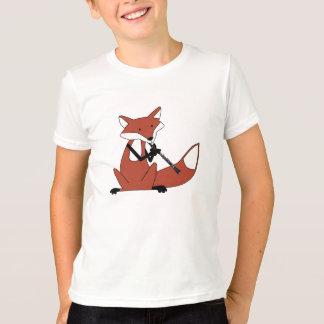 T-shirt Fox jouant la clarinette