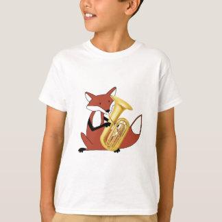 T-shirt Fox jouant le tuba