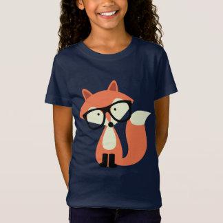 T-Shirt Fox rouge de hippie mignon