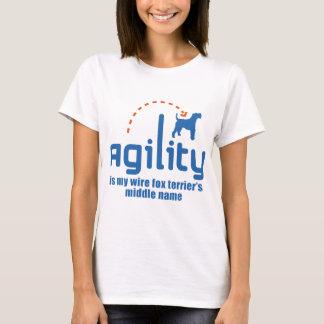 T-shirt Fox Terrier de fil