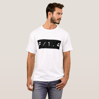 T-shirt Foyer F/1.4 sélectif