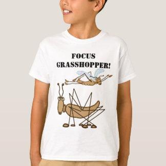 T-shirt Foyer, sauterelle !