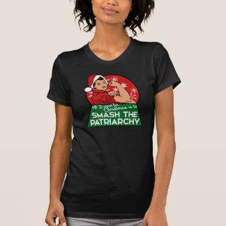 T-shirt Fracas le patriarcat pour Noël