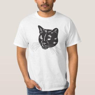 T-shirt frais d'art de chat
