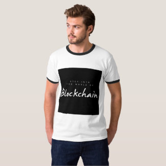 T-shirt frais de Blockchain